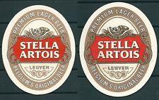 STELLA ARTOIS BELGIAN BEER, BEER MAT/COASTER UNUSED -GV 190713