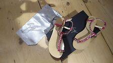 Original Luxus Schuhe Giuseppe Zanotti Leder pink ausgefallen Gr. 36 NEU