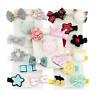 5Pcs/set Kids Infant Hairpin Baby Girl Hair Clip Bow Flower Mini Barrettes Star
