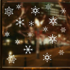 White-Snow Snowflake Wall Sticker Winter Christmas Window Vinyl Decal Home Decor