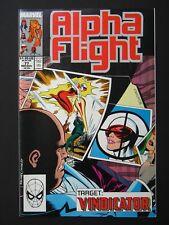 Alpha Flight #77,78,79,80 NM- 1989 Lot of 4 High Grade Marvel Comic Books