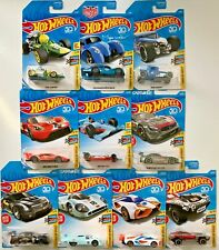 Hot Wheels 2018 Legends of Speed #FJW05 1:64 Scale Diecast (Complete 10 Car Set)