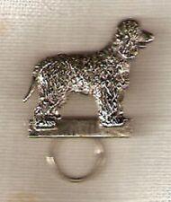 Irish Water Spaniel Nickel Silver Eye Glass Scarf Holder Pin Jewelry*