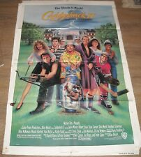 1988 CADDYSHACK II 1 SHEET MOVIE POSTER ROBERT STACK DYAN CANNON CHEVY CHASE