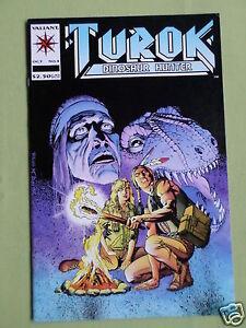 TUROK DINOSAUR HUNTER - #4   - VALIANT COMIC - OCT 1993 -  VG