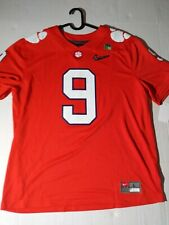 Large Nike Clemson College Football Playoff Football Jersey Etienne #9