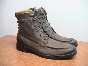 NEW Mens 13 Mark Nason 71950 Amador Brown Leather Moc Toe Boots