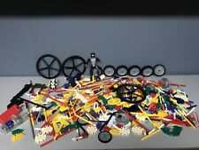 3 Lb Plus Lot of Loose, Assorted K'NEX Building Pieces and Toy Parts