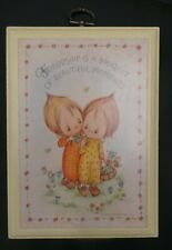 Betsey Clark Plaque Hallmark Friendship is a Bouquet of Beautiful Moments