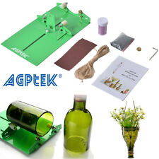 AGPtek Bottle Cutter Kit Glass Wine Bottle Cutter Cutting Machine+Power DIY Tool