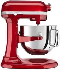 Kitchen Aid Ksm7586Pca Pro Line 7 Quart Bowl-Lift Stand Mixer in Candy Apple Red
