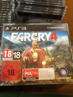 PS3 Far Cry 4 Promo Game (Full Promotional Game) Ubisoft PAL
