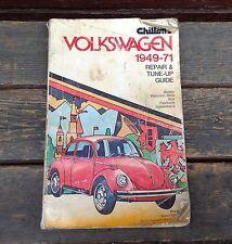 Chilton's Volkswagen Beetle Karman Gia Bus Fast/Square Back 1949-71 Manual