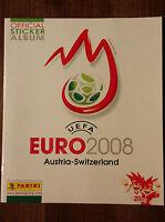 PANINI Leeralbum EURO 2008 EM Österreich Schweiz empty Album Austria Switzerland