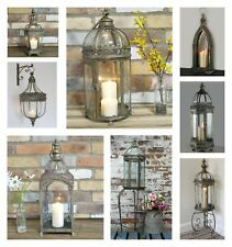 Vintage Bronze Lamp Moroccan Garden Lantern Candle Holder Metal Party Decor GIFT