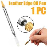 Leather Craft Top Edge Dye Pen Applicator Belt Edge Oil Paint Roller Tools HS