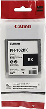 New Genuine Canon PFI-102 Black Ink Tank imagePROGRAF iPF500 iPF600