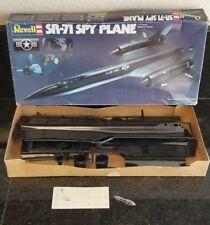 OLDER REVELL SR-71 SPY PLANE 1/72 SCALE JET PLANE  MODEL KIT