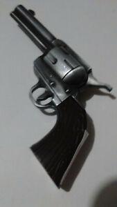 PEWTER COLOR GUN  REVOLVER LIGHTER Refillable Butane Pistol Torch Lighter