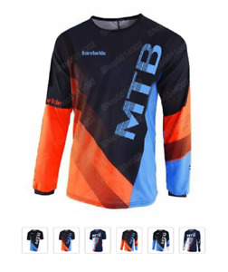 2019 Quick Dry maillot ciclismo MX dh Off Road Mountain cycling moto Motocross B