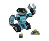 3 in 1 LEGO Creator Set Robo Explorer 31062 Robot Toy For Kids Robotic Build Kit