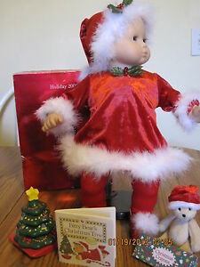 American Girl Bitty Baby's Santa's Helper Set RETIRED 2000 New in Box NIB P.C.