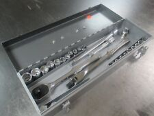 Armstrong Ratchet, Breaker Bar, Extensions, Adapters, Spinner & Socket Set in Bx