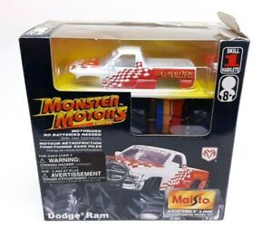 Maisto Assembly Line Monster Motors Dodge Ram Motorized Die Cast Mopar