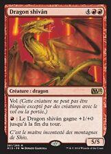 MTG Magic M15 - Shivan Dragon/Dragon shivân, French/VF