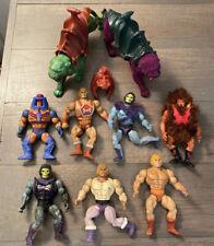 Mattel Masters of the Universe MOTU He-Man Action Figures Vintage Lot Bundle.