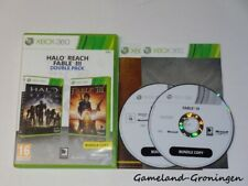 Xbox 360 Game: Halo Reach & Fable III (Complete)