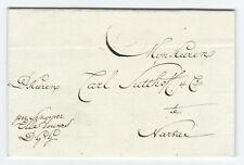 Nederland Schippersbrief 1817 Amsterdam - Narva Estland , DGG !!