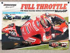 2007 Poster Loris Capirossi #65 DUCATI MotoGP Bridgestone Honda Suzuki Kawasaki
