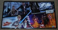 """SDCC EXCLUSIVE HASBRO  STAR WARS DUAL SIDED POSTER 30"""" x 16"""""""