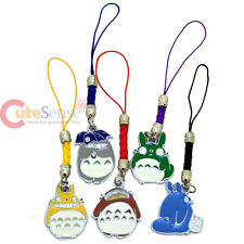 My Neighbor Totoro Cell Phone Straps 5pc Charm Set Phone Accessories