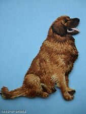 IRON-ON EMBROIDERED PATCH - GOLDEN RETRIEVER - DOG