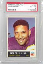 1965 Philadelphia Gum Jim Marshall (#107) PSA8 PSA (#230511045809)
