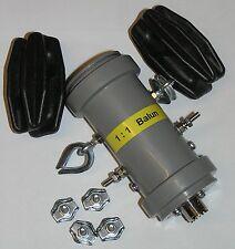 1:1 Strom - Balun  1 - 60 Mhz  (mit Zubehör)