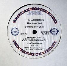 BLACK GOSPEL LP Edwin Hawkins New York Community Choir AFRTS LP