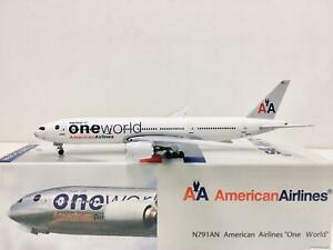 Aero500 / Herpa Scale 1:500 American Airlines One World Boeing 777 N791AN