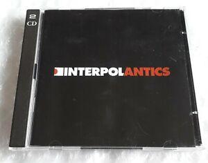 Interpol - Antics - 2 x CD Album Reissue Limited Edition