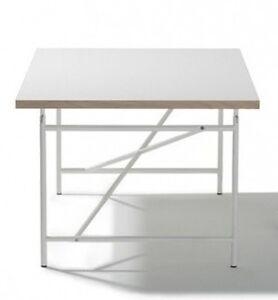 Kinderschreibtisch Eiermann – Tischplatte weiß mit Gestell weiß 120 x 70 cm !!!
