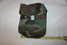 New US Military Issue 200 Round Saw Utility Pouch Woodland Camouflage  MOLLE II