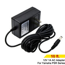 9.8 Ft 12V 1A Power Supply AC Adapter for Yamaha PSR YPG YPT DGX DD EZ PA130