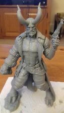 Hellboy Custom Resin Model Kit GK Figure Statue 1/24