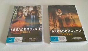 Broadchurch Series 2 & 3 DVD 6 Discs Region Pal 4