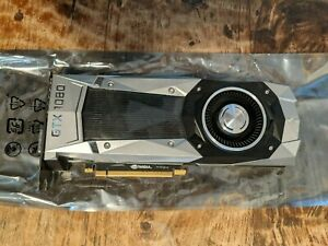 Nvidia GTX 1080 Founder's Edition 8gb Graphics Card