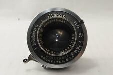 EXC+3 Wollensak anastigmat 55mm f/3.5  lens in Alphax shutter from JAPAN #1714