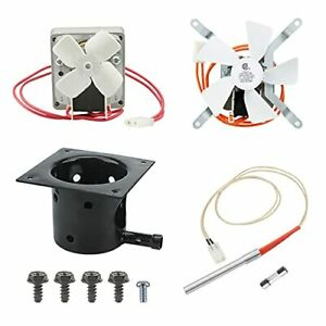 Grill Induction Fan, Replacement Parts + Screws + Fuse, Wood Pellet Grill