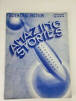 Amazing Stories January 1933 Vol .7 #10 Pulp Sci-Fi Magazine